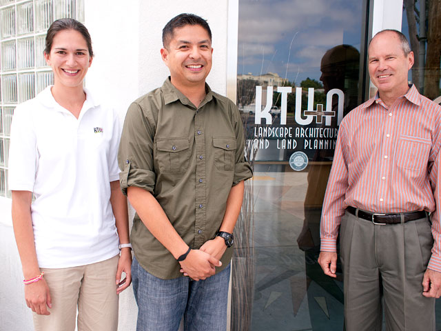 KTU+A's Catrine Machi, Joe Punsalan And John Howard