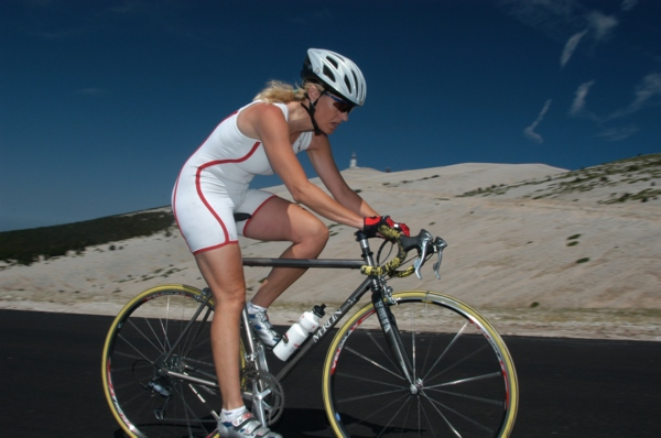 """Climbing Mont Ventoux which Lance Armstrong refers to as """"the giant of Provence"""""""