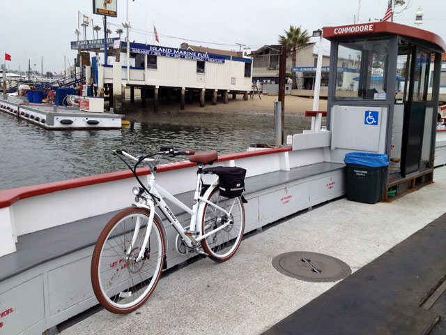You can ferry your ebike, but you can't take it on AMTRAK