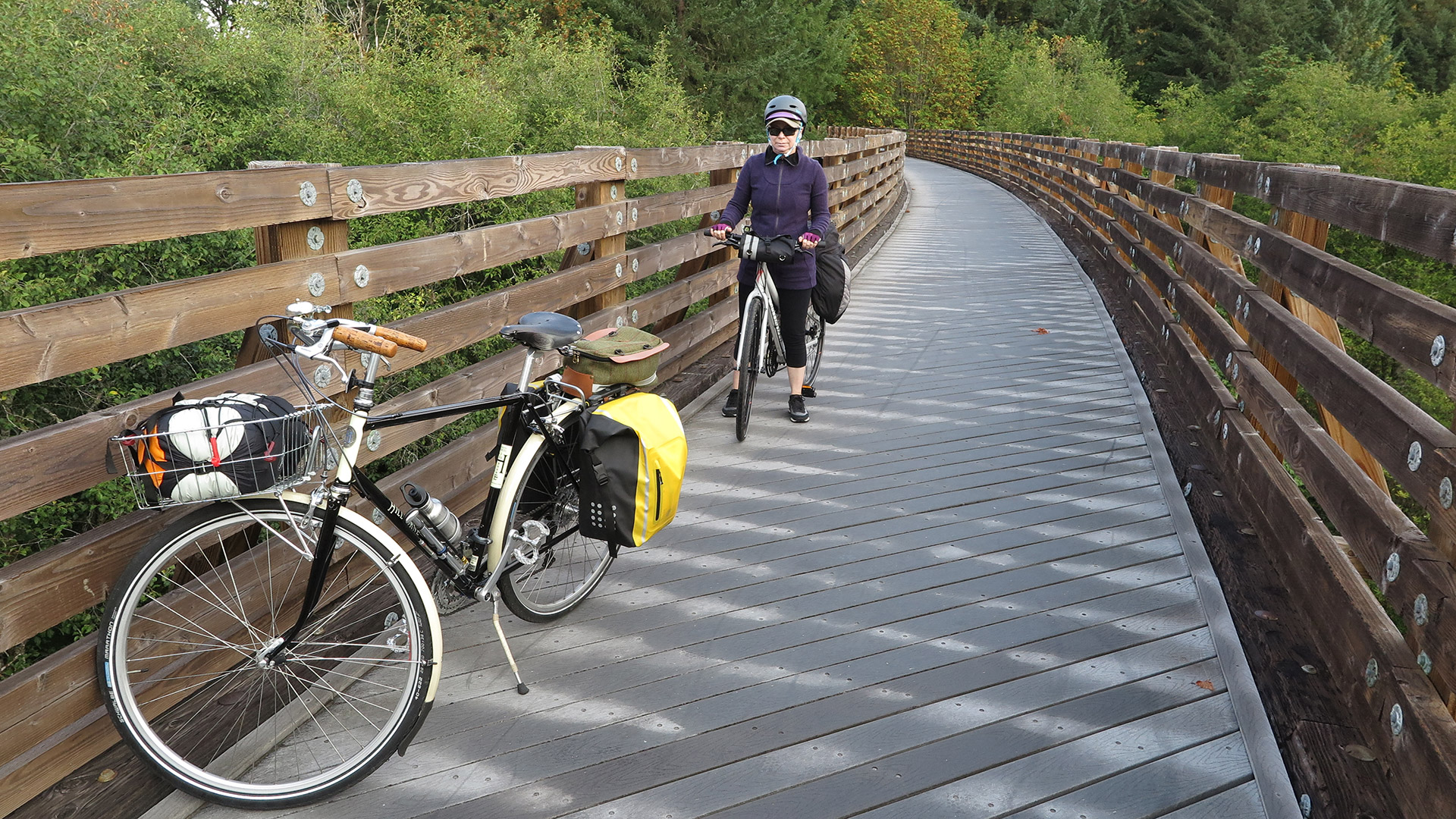 Get out of Portland fast via light rail and trail