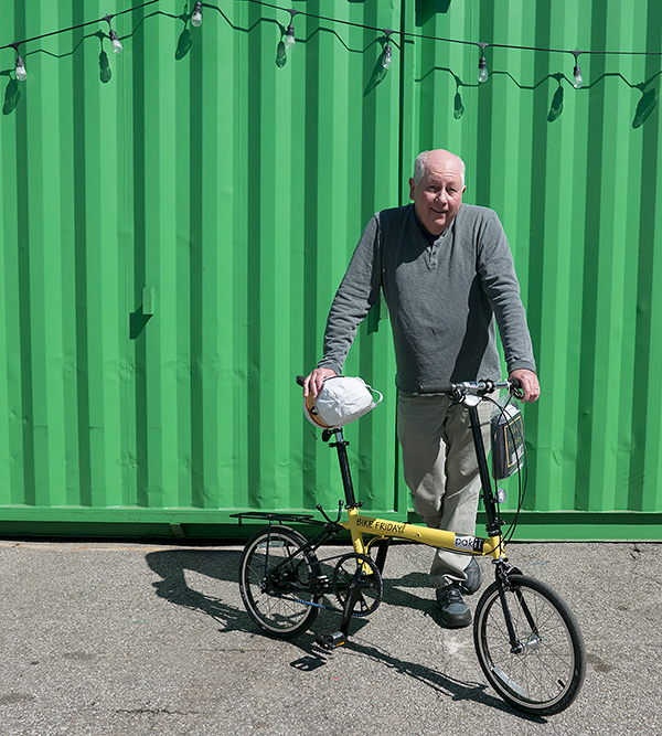 A new Bike Friday for Bici Centro