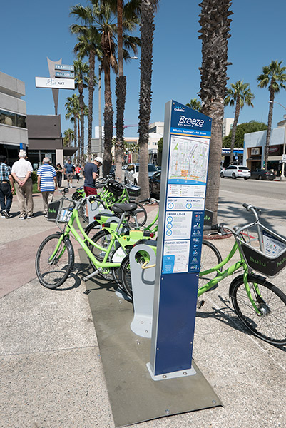 Bikeshare is ideal in compact, hi-density Santa Monica