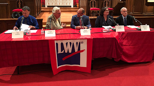 Pick 1 – at a Candidate Forum hosted by the League of Women Voters of Santa Barbara